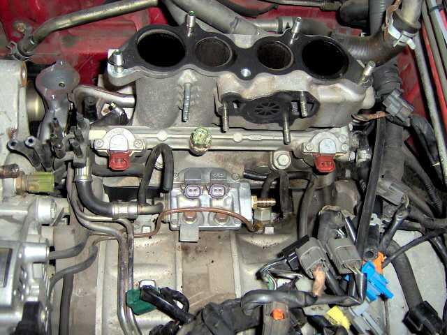 FD3s Pulsation Damper Elimination