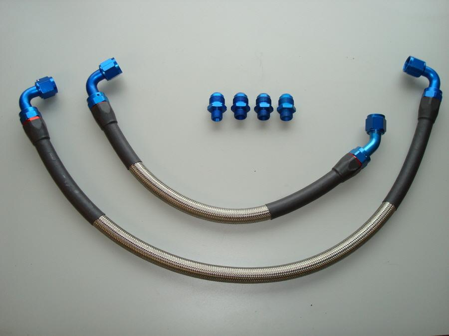 Braided Coolant Lines : Banzai racing convertible cosmo conversion page