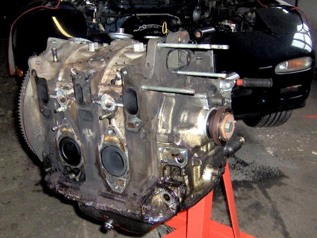 banzai racing robbins rx 7 13b rew engine breakdown