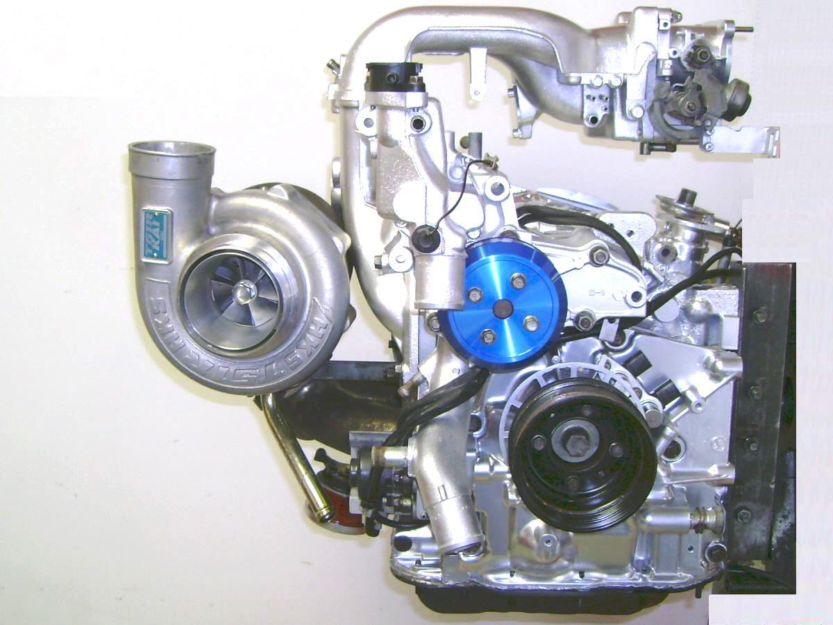 93 Mazda RX-7 13B-REW FD3S CAS Crank Angle Sensor Timing Wheel Used